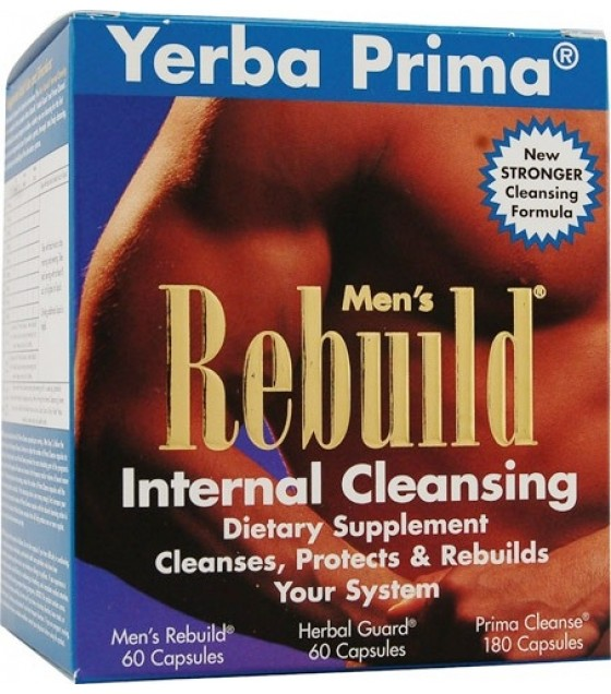 [Yerba Prima] Programs Men`s Rebuild Internal Cleansing Sys