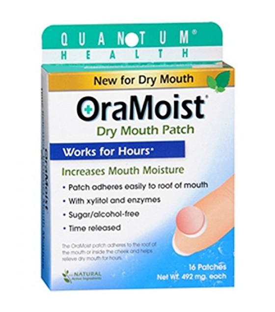 [Quantum] Oral Care OraMoist Dry Mouth Discs