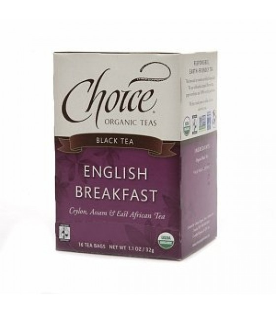 [Choice Organic Teas] Loose Leaf-Fair Trade Certified Teas English Breakfast  At least 95% Organic