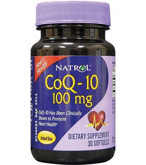 [Natrol] My Favorite Supplements CoQ10 100 mg