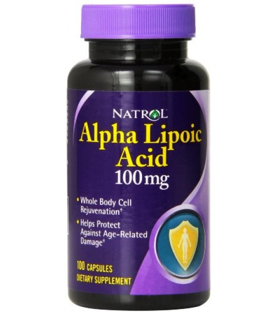 [Natrol]  Alpha Lipoic Acid 100 mg