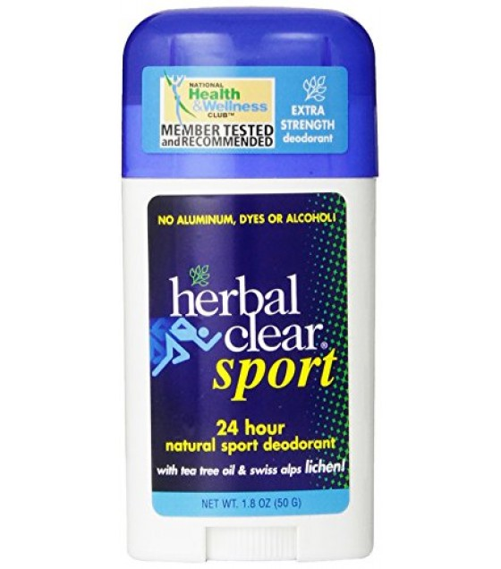 [Herbal Clear]  Deodorant Stick, Sport