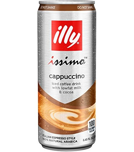 [Illy Issimo] Coffee Drinks Cappuccino, 4-pack