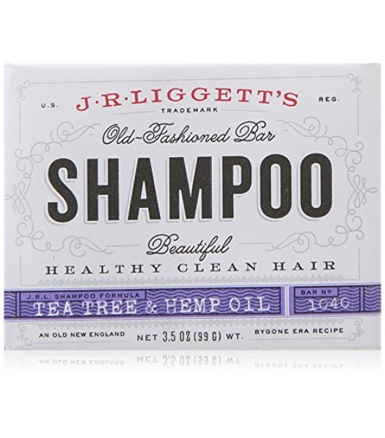 [J.R. Liggett]  Shampoo, Tea Tree & Hemp Oil