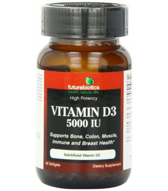 [Futurebiotics] VITAMIN D3,5000 IU