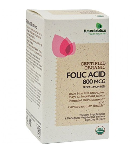 [Futurebiotics] FOLIC ACID,OG2  At least 95% Organic