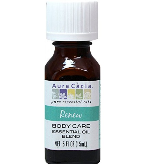 [Aura Cacia] Essential Oils Renew Body Care Blend