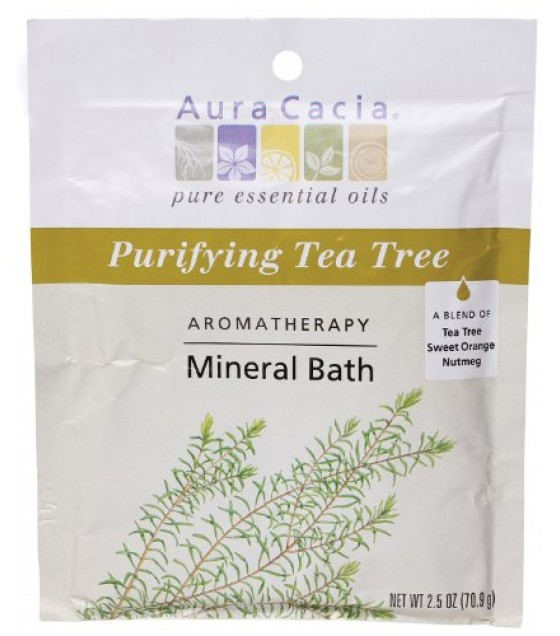 [Aura Cacia] MNRL BATH,PURIFY T-TREE