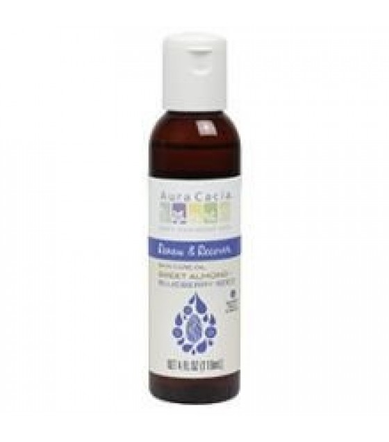 [Aura Cacia] Skin Care Oils Renew & Recover Almond/Blueberry