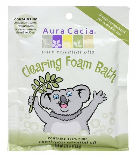 [Aura Cacia] Bath Foam for Kids Clearing