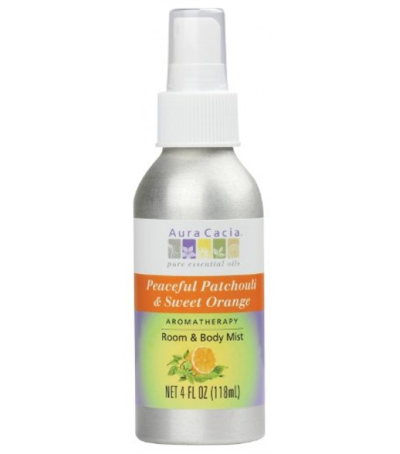 [Aura Cacia] Aromatherapy Body Care Peaceful Patchouli/Swt Orange Mst