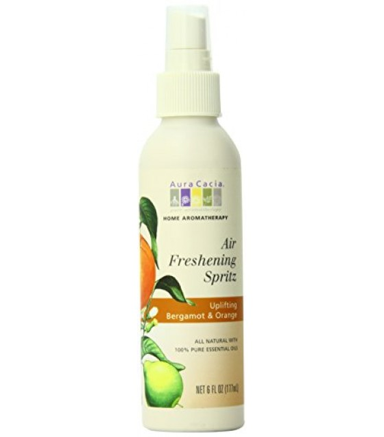 [Aura Cacia] Air Freshening Spritz Uplifting Bergamot & Orange