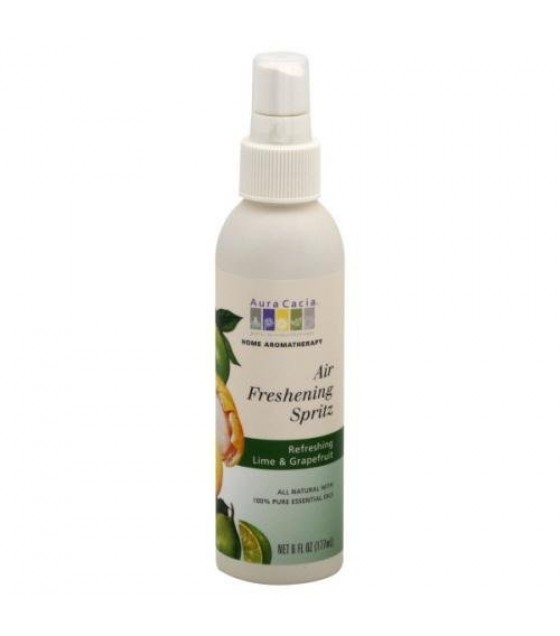[Aura Cacia] Air Freshening Spritz Refreshing Lime & Grapefruit