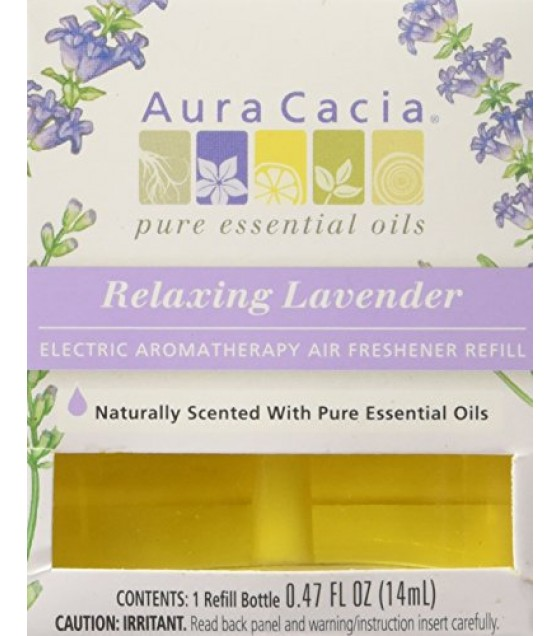 [Aura Cacia] Aromatherapy Accessories Relaxing Lavender Elec Refill