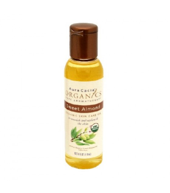 [Aura Cacia] Skin Care Oils Sweet Almond  At least 95% Organic