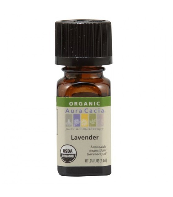 [Aura Cacia] Organic Essential Oil Lavender  At least 95% Organic