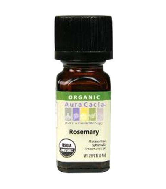 [Aura Cacia] Organic Essential Oil Rosemary  At least 95% Organic