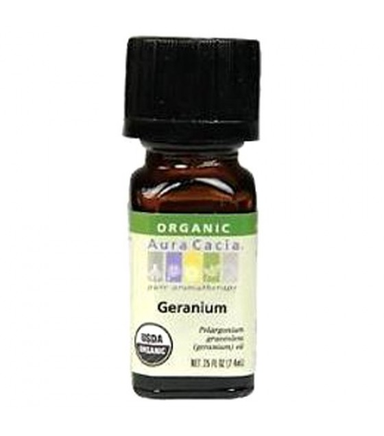 [Aura Cacia] Organic Essential Oil Geranium  At least 95% Organic