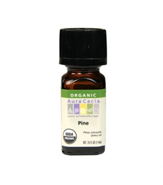 [Aura Cacia] Organic Essential Oil Pine  At least 95% Organic