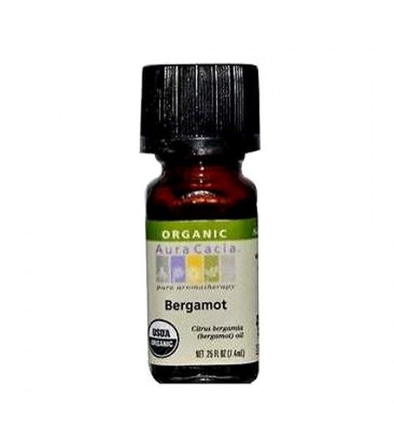 [Aura Cacia] Organic Essential Oil Bergamot  At least 95% Organic