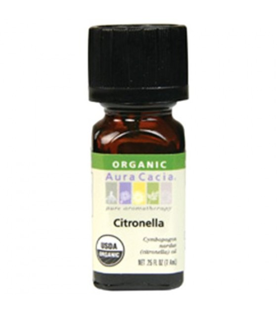 [Aura Cacia] Organic Essential Oil Citronella  At least 95% Organic