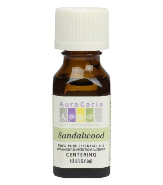 [Aura Cacia] Essential Oils Sandalwood
