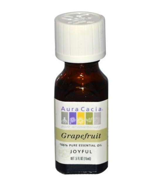 [Aura Cacia] Essential Oils Grapefruit
