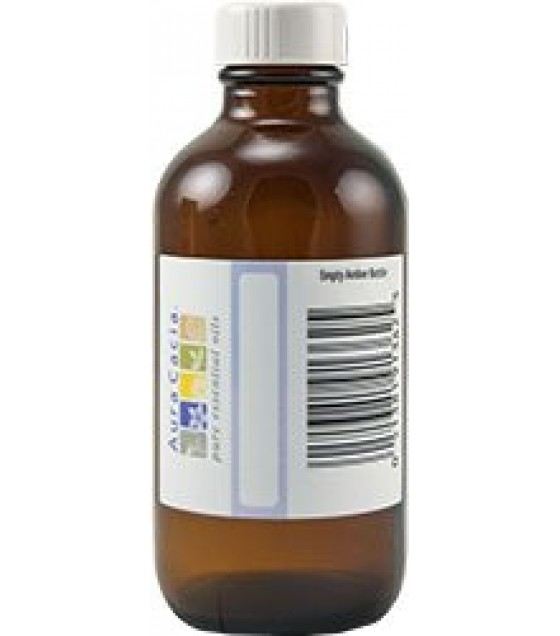 [Aura Cacia] Aromatherapy Accessories Amber Bottle w/Writable Label