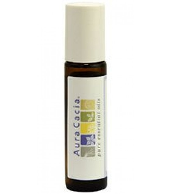 [Aura Cacia] Aromatherapy Accessories Amber Btl, Roll On, Writable Lbl