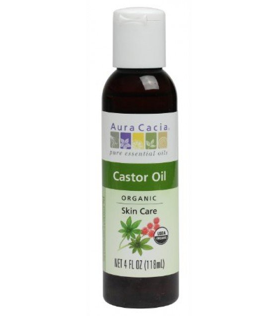 [Aura Cacia]  Castor Oil  At least 95% Organic