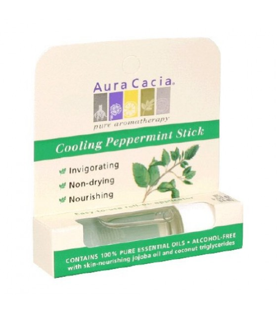[Aura Cacia] Aromatherapy Sticks Cooling Peppermint