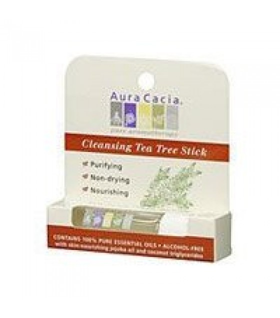 [Aura Cacia] Aromatherapy Body Care Roll-On, Purifying Tea Tree