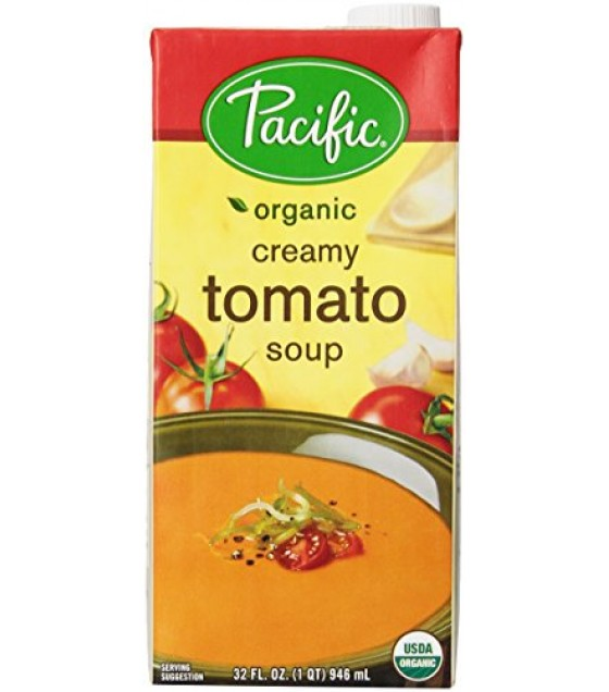 [Pacific Natural Foods] Soup Tomato, Creamy  At least 95% Organic