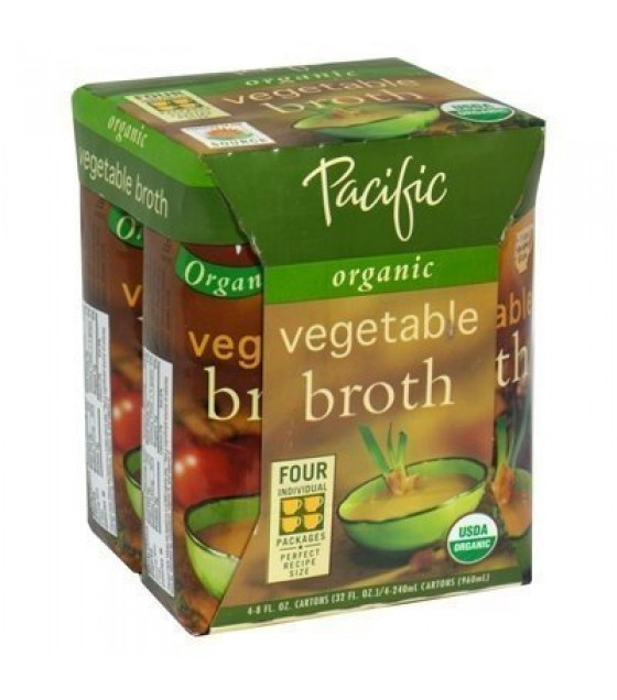 [Pacific Natural Foods] Organic/Natural Broth Vegetable  At least 95% Organic