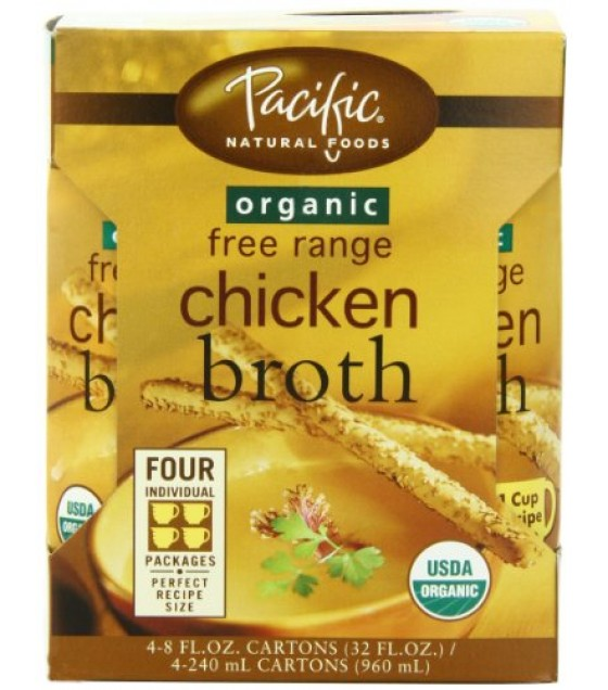 [Pacific Natural Foods] Organic/Natural Broth Chicken  At least 95% Organic