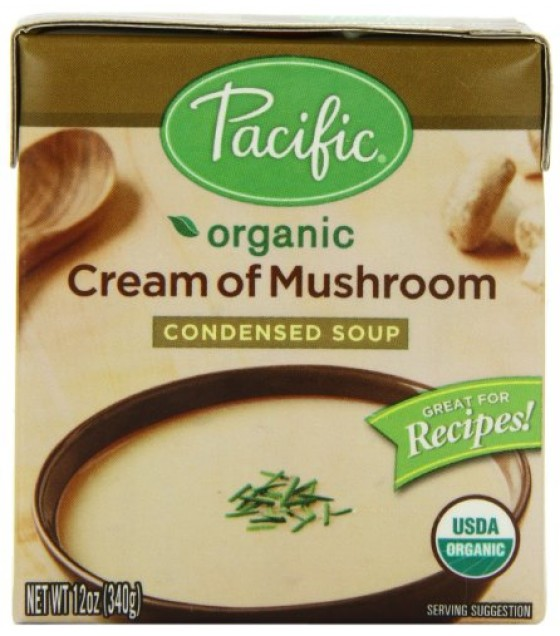 [Pacific Natural Foods] Organic Condensed Soups Cream Of Mushroom  At least 95% Organic