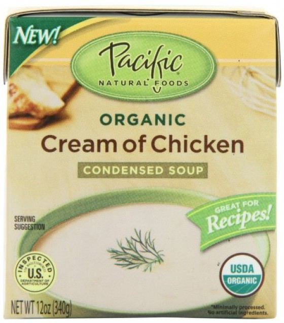 [Pacific Natural Foods] Organic Condensed Soups Cream Of Chicken  At least 95% Organic
