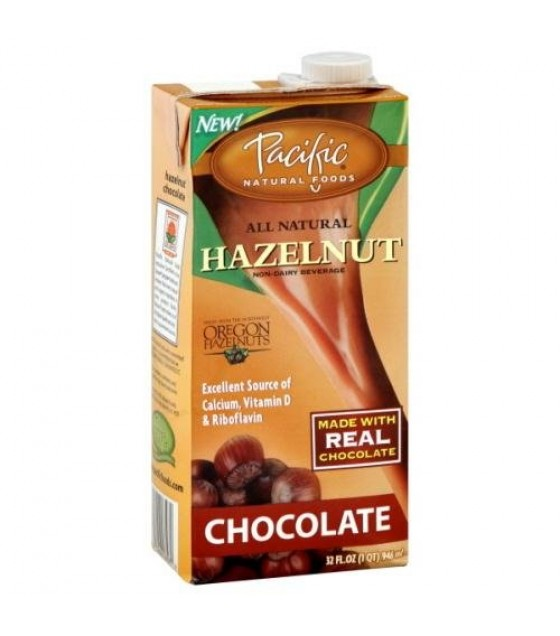 [Pacific Natural Foods] Non Dairy Alternative Beverage Hazelnut, Chocolate