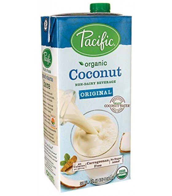 [Pacific Natural Foods] Non Dairy Alternative Beverage Coconut, Original  At least 95% Organic