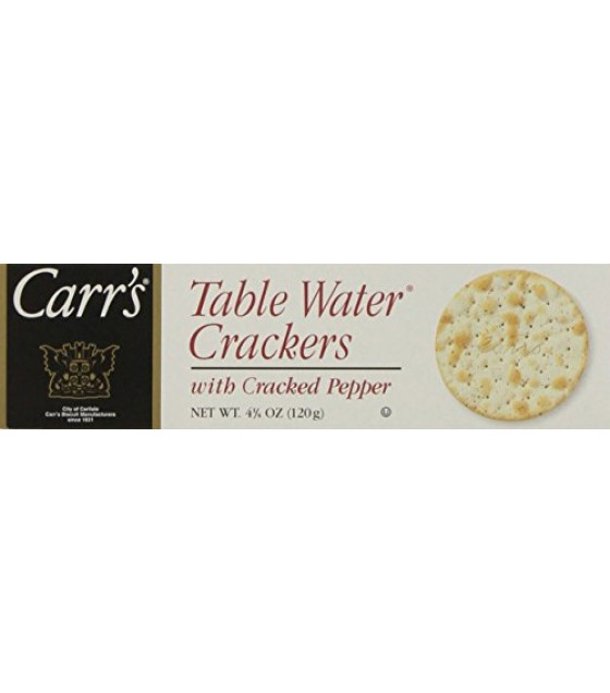 [Carr`S] Cracker/Bread Specialty Crackers Cracked Pepper, Bite Size