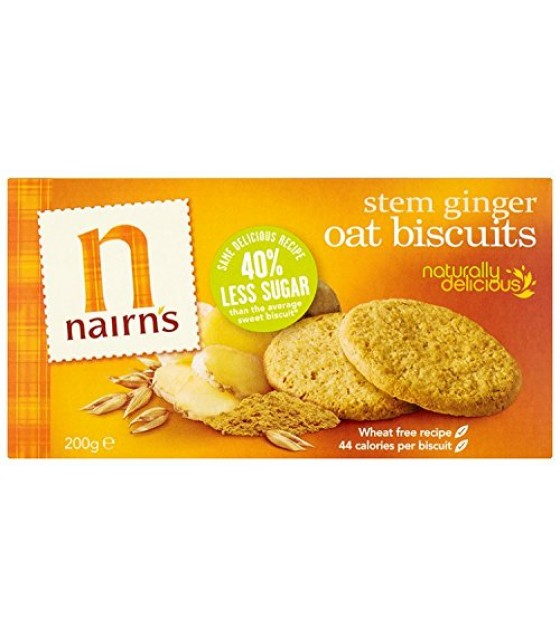 [Nairn`S] Biscuits Oat w/Stem Ginger