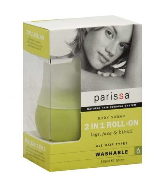 [Parissa] Hair Removers 2 in 1 Roll-On Wax System