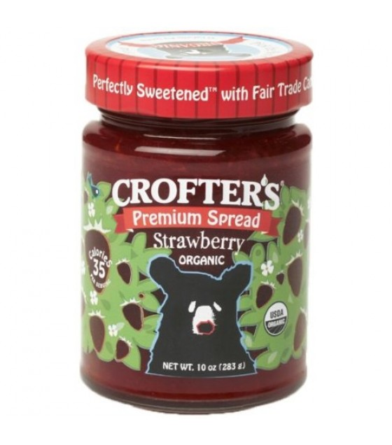 [Crofters] Premium Spread Strawberry, Fair Trade  At least 95% Organic