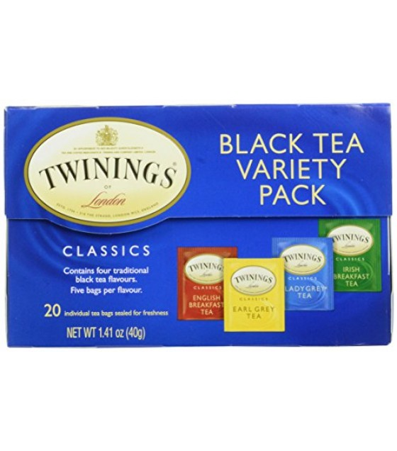 [Twinings] Teas Variety Pack