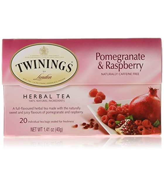 [Twinings] Teas Herbal, Pomegranate Raspberry