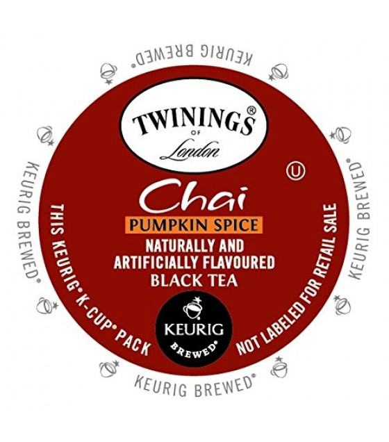 [Twinings] K-Cups Pumpkin Chai