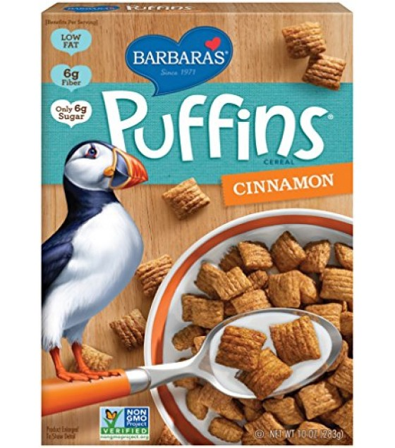 [Barbara`S Bakery] Cereal Puffins, Cinnamon