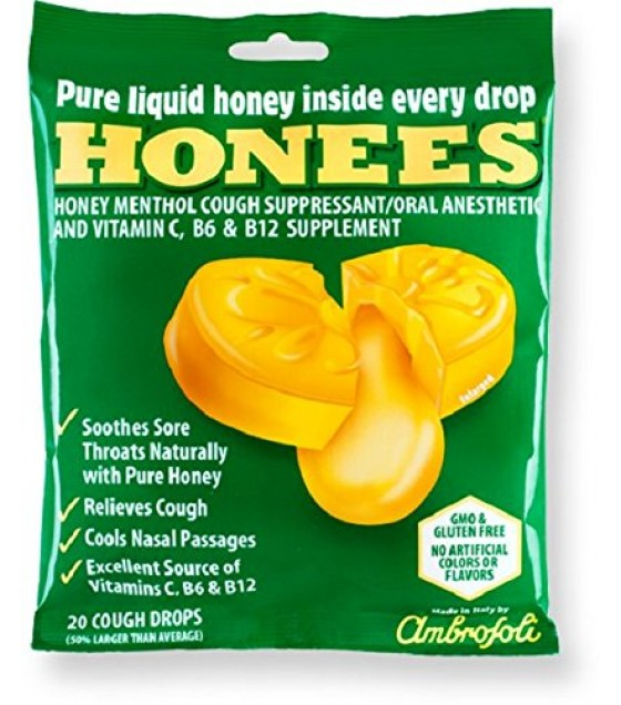[Honees] COUGH DROPS,X-LRG,MENTHOL