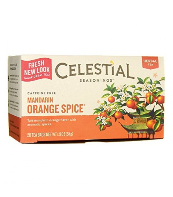 [Celestial Seasonings] Teas Mandarin Orange Spice
