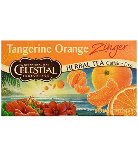 [Celestial Seasonings] Teas Tangerine Orange Zinger
